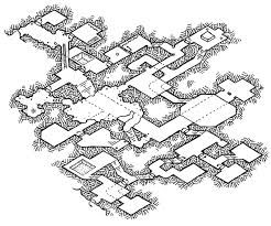 Iso Map Friday Map Isometric Dungeon Experiment 4 Dyson U0027s Dodecahedron