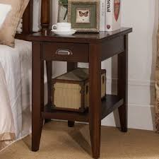side table with attached lamp wayfair