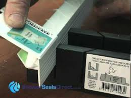Bathtub Sealing How To Fit Cladseal Shower Seal Strips To Tray Or Bath Tub Youtube