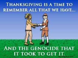 thanksgiving in the usa a day of mourning for many