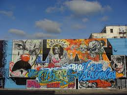 Los Angeles Gang Map Google by Los Angeles Graffiti Art In Color A Syn Flickr