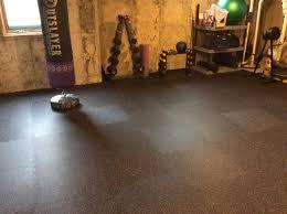 interlocking rubber floor tiles color flec gym floor