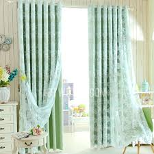 Green Color Curtains Teal Sheer Curtains U2013 Teawing Co