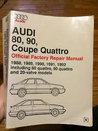 vwvortex com audi 80 90 cq repair manual