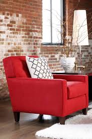 Chair Red Accent Chairs For Living Room Winda  Furniture Chair - Red accent chair living room