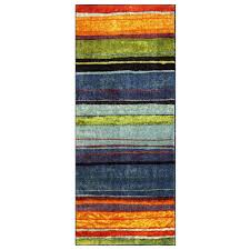 Mohawk Runner Rug Mohawk Home Rainbow Multi 2 Ft X 5 Ft Runner 207298 The Home Depot
