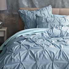 navy blue pintuck duvet cover sweetgalas