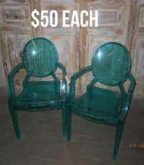 ghost chairs wholesale pieceslot acrylic ghost dining chairschina