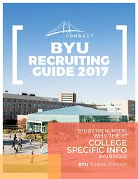 Byu Map Byu Recruiting Guide 2017 By Brigham Young University Issuu