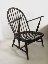 Ercol Windsor Rocking Chair Vintage Armchair By Lucian Ercolani For Ercol For Sale At Pamono