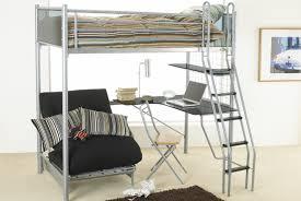 futon furniture wooden twin futon bunk bed with storage ladder