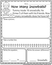 1st grade word problem worksheets worksheets