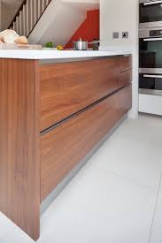 handleless kitchen cabinets handleless kitchen cupboard detail n1glassbox project apd
