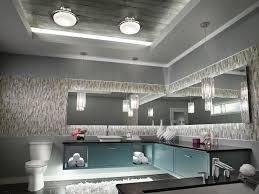Vintage Bathroom Lighting Ideas Wonderful Ceiling Mounted Bathroom Light Fixtures Chrome Lighting