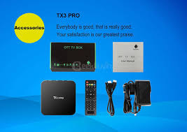 pro android tanix tx3 pro android 6 0 marshmallow amlogic s905x tv box
