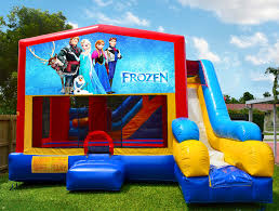 bounce house rentals 7in1 frozen bounce house rental