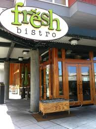 restaurant entrance exterior design of fresh bistro seattle