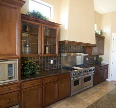 limestone backsplash kitchen kitchen astounding image of american woodmark kitchen cabinet
