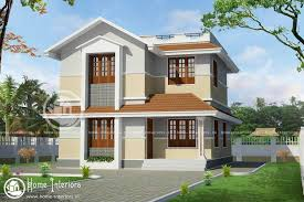 Home Design - 1400 sqft beautiful kerala home design