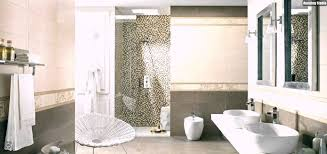 badezimmer weiß ideen kleines fliesen sandfarben mosaik fliesen badezimmer weiss