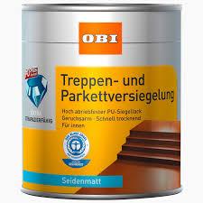 treppe obi obi treppen und parkettversiegelung transparent seidenmatt 375 ml
