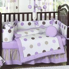 modern baby crib bedding image of modern purple crib bedding