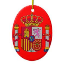 barcelona porcelain ornament ornament
