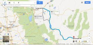 Nevada Map Fernley Nevada To Tonopah Nevada