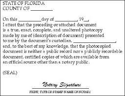 duties of a notary public notary education florida department