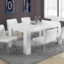 White Modern Dining Chair Dining Room Comfortable And Attractive Modern Dining Chairs