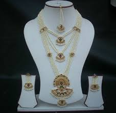 long pearl necklace set images Long jewelry set with pearls jpg