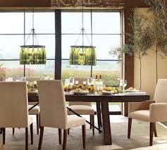 cool image of dining room decoration using dome clear glass dining