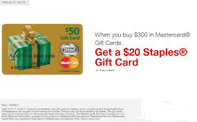 mastercard e gift card staples easy rebate on mastercard gift cards april 23 29 2017