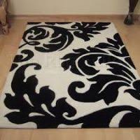 Damask Rugs Black And White Damask Rug Rugs Ideas