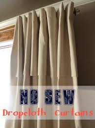 master bedroom makeover no sew dropcloth curtains in which we