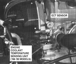 honda accord radiator fluid getting 117 118 on 98 honda accord 2 3l engine where is the