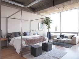 metal four poster bed spaces contemporary with bed bedroom sitting