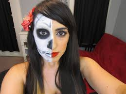 Halloween Skeleton Make Up by Halloween Makeup