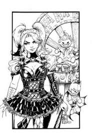 Suicide Squad coloring pages for adults Harley Quinn  Coloring
