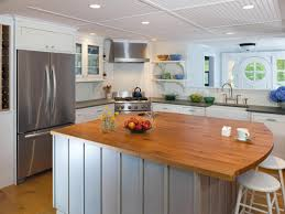 farmhouse kitchen island ideas appliances round white barstool with overhang hardwood kitchen
