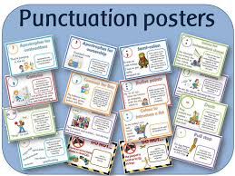 spag punctuation posters ks1 ks2 years 1 to 6 display pack by
