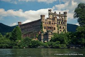 Top 10 Abandoned Places In The World Drone Video Of Abandoned Bannerman Island Castle In Hudson Valley