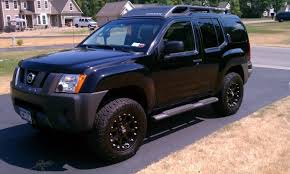 nissan xterra lift kit back in black u003e post a pic of your black x page 19 second