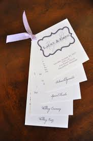layered wedding programs 10 reasons you need wedding programs wiregrass weddings