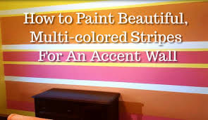 design kickstarter how to paint wall stripes using three or four