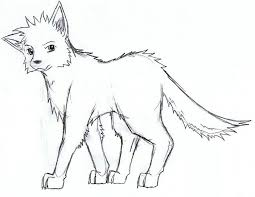 practice sketch wolf by kyuubi0017 on deviantart