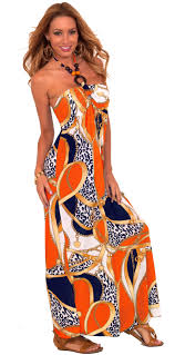 sleeveless beaded halter style loose fit summer sundress casual