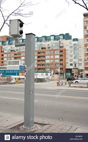 red light camera settlement red light camera catch traffic law offender stock photo 28316317