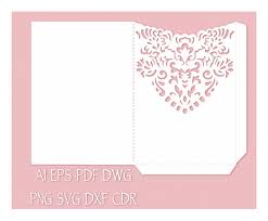 pocket invitation envelopes wedding invitation pocket envelope template 5x7 от