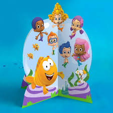 bubble guppies birthday party table topper nickelodeon parents